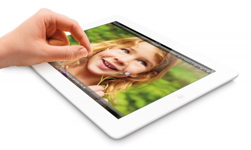 TOPPING WISH LISTS. According to a survey by Nielsen, 48 percent of American children aged 6 to 12 want an iPad for Christmas. (Apple press center photo)